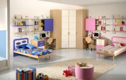 Интерьер детской для разнополых детей — часть 1