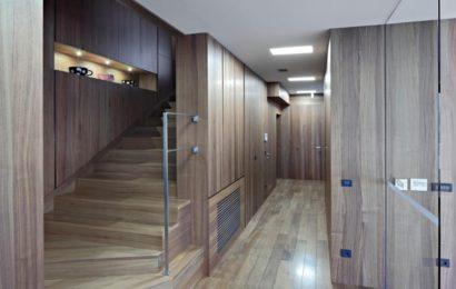 Вилла в Хорватии: необычный дизайн лестницы