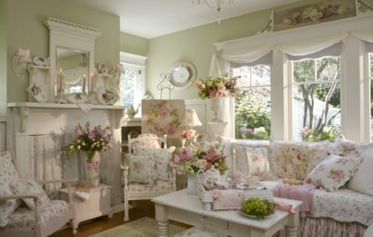 Стиль прованс в интерьере гостиной — часть 2