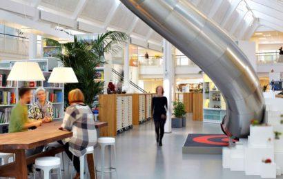Работать, играя: офис Lego в Дании