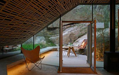 «Наскальный дом» — пристройка в Норвегии