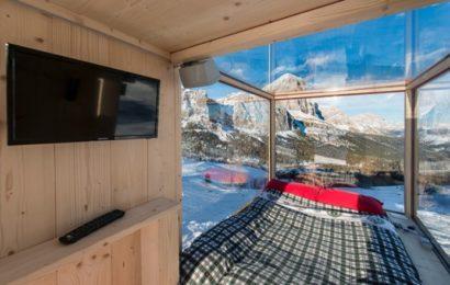 Нестандартное решение: дом на лыжах