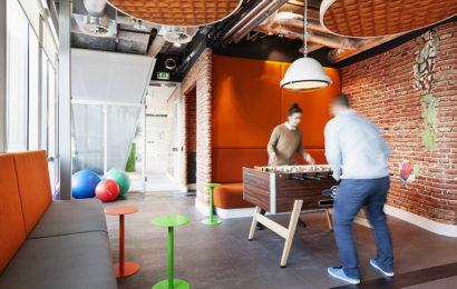Гараж — обновленный офис компании Google