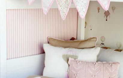 Розовая спальня для сестричек