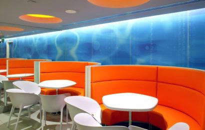 Дизайн флагманского ресторана McDonalds