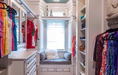 Дизайн маленькой гардеробной — 69 фото-идей