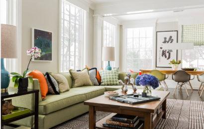 Декоративные подушки в интерьере — 78 фото-идей