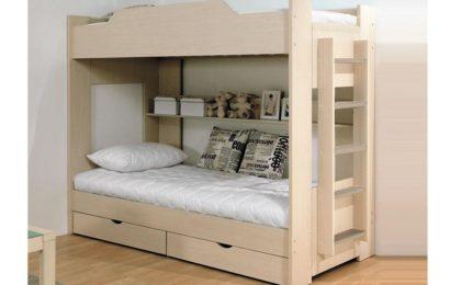 Детская двухъярусная кровать — 72 фото-идеи