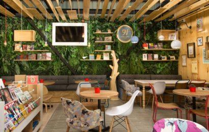Книжное кафе — уютная альтернатива библиотекам