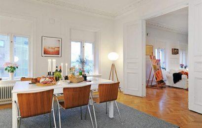Квартира недели: мансарда в Гетеборге