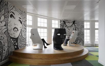 Офис рекламного агентства JWT в Амстердаме