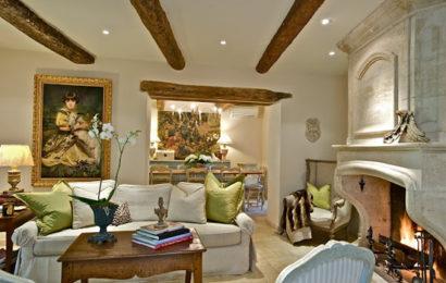 Стиль прованс в интерьере гостиной — часть 1