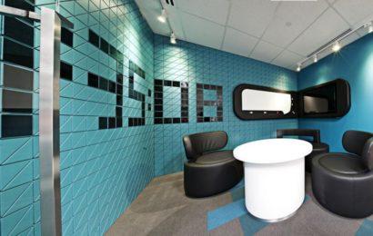 Дизайн интерьера большого офиса