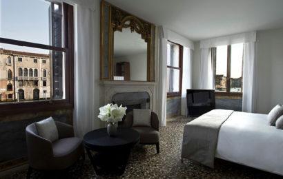 Шикарный интерьер отеля в Венеции