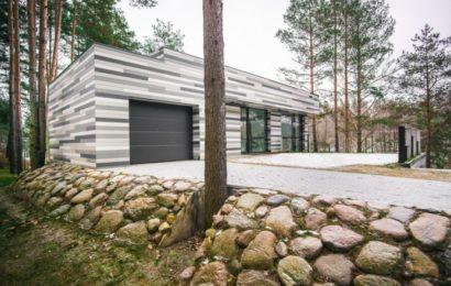 «Березовый» дом в сосновом лесу