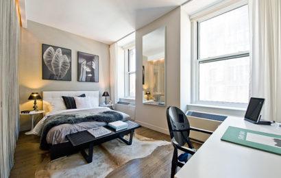 Квартира-студия в Нью-Йорке