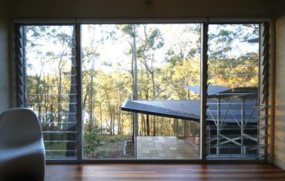 Гостевой домик на лесистом холме