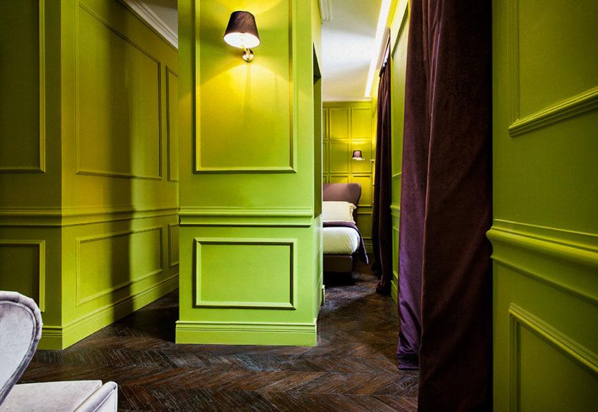 Роскошный отель-бутик в Риме