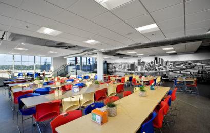 Google — офис в здании бисквитной фабрики