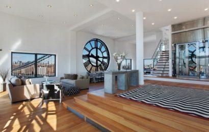 Уникальный интерьер квартиры в Нью-Йорке