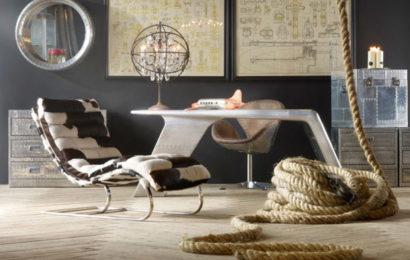 11 ретро-винтажных интерьеров гостиной