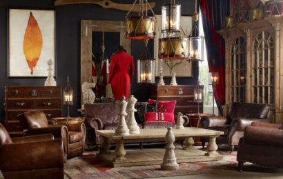 Потрясающие интерьеры гостиных в ретро-винтажном стиле от британского дизайнера Timothy Oulton