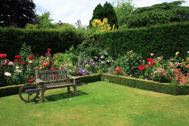 Дизайн сада своими руками — Классический стиль