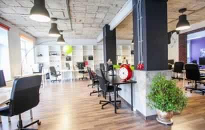 Дизайн небольшого офиса в стиле Лофт