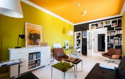 Квартира недели — Яркий интерьер с элементами лофт