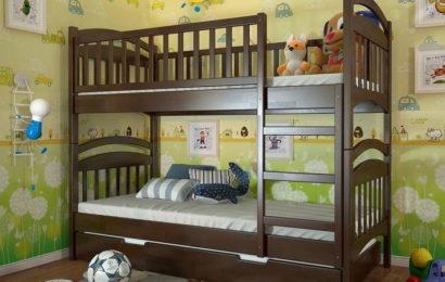 Детские двухъярусные кровати: преимущества
