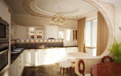 Дизайн потолка в частном доме: выбираем варианты отделки и декор