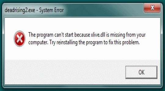Как исправить ошибку xlive.dll?