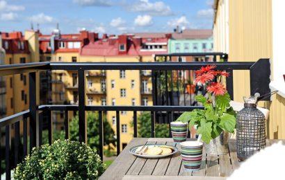 10 идей оформления маленького балкона