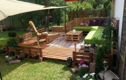 Как обустроить внутренний дворик
