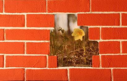 Имитация декоративной кирпичной кладки в современном интерьере — фото