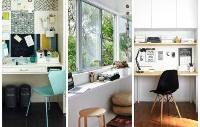 Дизайн интерьера рабочего места прямо дома