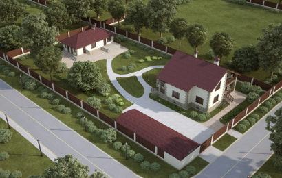 Как должны быть правильно расположены постройки на загородном участке