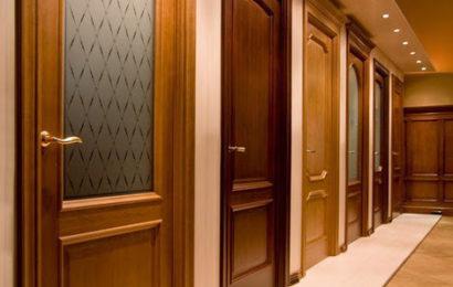 Виды покрытий межкомнатных дверей