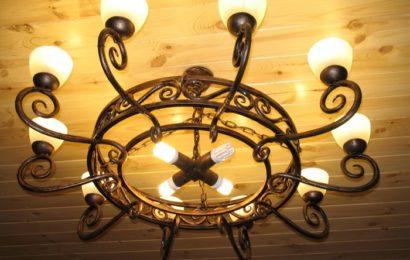 Красивая люстра – украшение дома