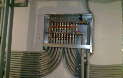 В чем заключается сложность установки коллекторной разводки отопления?
