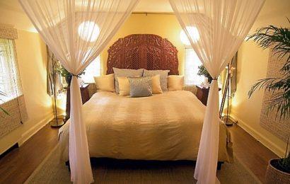 Как улучшить фен-шуй спальни, если кровать обращена к дверям?