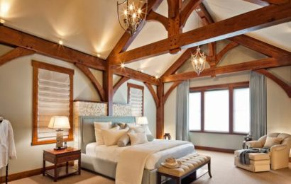 Потолочные балки в доме по фен-шуй — это «хороший» предмет интерьера или «плохой»?