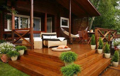 Строительство террасы к дому: как построить террасу своими руками