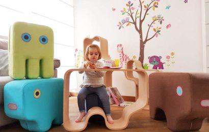 Мебель для детской, с которой хочется играть