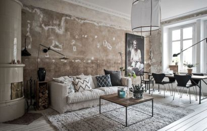 Бетон в интерьере: как сделать модные стены в вашей квартире