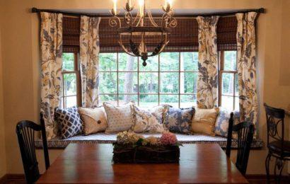 Подбираем шторы для эркера — интересные идеи и советы