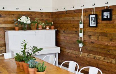 Супер-идея для ремонта: отделка стен деревом. Простейший мастер-класс (фото)