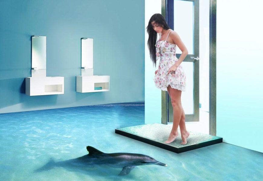 Наливные 3D полы: изюминка ремонта