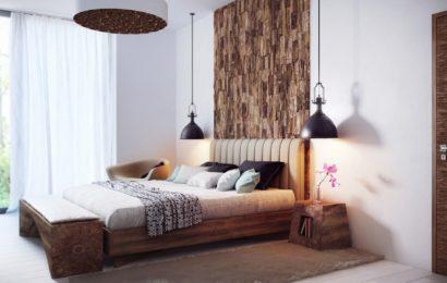 Комфортная спальня, оборудованная мебелью из Пинска