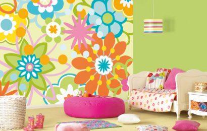 Как подобрать обои для детской по цвету?